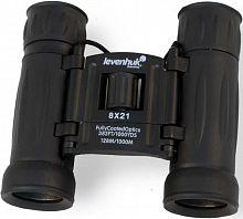 Бинокль Levenhuk 8-8x 21мм Atom 8x21 черный (67675)