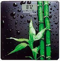 Весы напольные электронные Scarlett SC-BS33E051 макс.180кг рисунок/бамбук