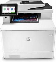 МФУ лазерный HP Color LaserJet Pro M479fdw (W1A80A) A4 Duplex Net WiFi белый/черный