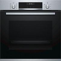 Духовой шкаф Электрический Bosch HBG537BS0R нержавеющая сталь/черный