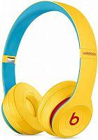 Гарнитура накладные Beats Solo3 Beats Club Collection желтый беспроводные bluetooth (оголовье)