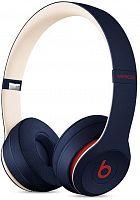 Гарнитура накладные Beats Solo3 Beats Club Collection темно-синий беспроводные bluetooth (оголовье)