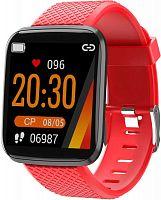 """Смарт-часы Smarterra FitMaster Aura 1.3"""" IPS красный (FMAUR)"""