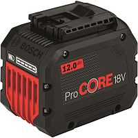 Батарея аккумуляторная Bosch ProCORE18V 18В 12Ач Li-Ion (1600A016GU)