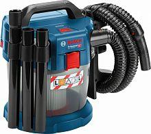 Строительный пылесос Bosch GAS 18V-10 L (уборка: сухая) синий