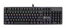 Клавиатура Оклик 990G RAGE механическая черный USB Multimedia for gamer LED