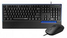 Клавиатура + мышь Rapoo NX2000 клав:черный мышь:черный USB Multimedia