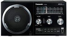 Радиоприемник настольный Panasonic RF-800UEE1-K черный USB