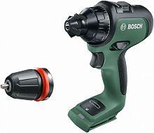 Дрель-шуруповерт Bosch AdvancedDrill 18 аккум. патрон:быстрозажимной