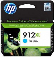 Картридж струйный HP 912XL 3YL81AE голубой (825стр.) для HP OfficeJet 801x/802x