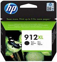 Картридж струйный HP 912XL 3YL84AE черный (825стр.) для HP OfficeJet 801x/802x