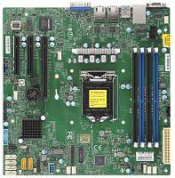 Материнская Плата SuperMicro MBD-X11SCL-F-O Soc-1151 iC242 mATX 4xDDR4 6xSATA3 SATA RAID i210AT 2хGgbEth Ret