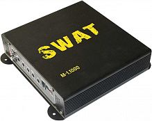 Усилитель автомобильный Swat M-1.1000 одноканальный