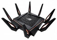 Роутер беспроводной Asus GT-AX11000 AX11000 10/100/1000BASE-TX/4G ready черный