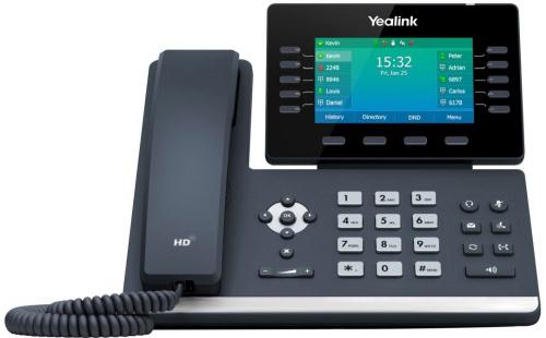 Телефон SIP Yealink SIP-T54W черный