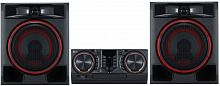 Минисистема LG CL65DK черный 950Вт/CD/CDRW/DVD/DVDRW/FM/USB/BT (в комплекте: диск 2000 песен)