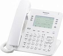 Телефон IP Panasonic KX-NT630RU белый