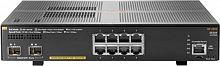 Коммутатор HPE Aruba 2930F JL258A 8G 2SFP+ 8PoE+ 125W управляемый