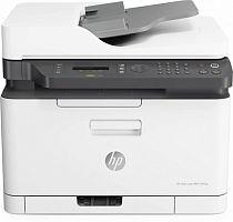 МФУ лазерный HP LaserJet 179fnw (4ZB97A) A4 WiFi белый/серый