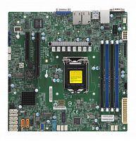 Материнская Плата SuperMicro MBD-X11SCH-F-O Soc-1151 iC246 mATX 4xDDR4 8xSATA3 SATA RAID i210 2хGgbEth Ret