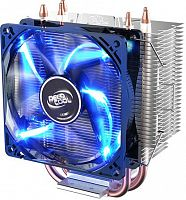 Устройство охлаждения(кулер) Deepcool GAMMAXX 300 FURY Soc-AM3+/AM4/1150/1151/1200 4-pin 18-21dB Al+Cu 130W 435gr LED Ret