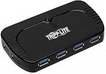Разветвитель USB 3.0 Tripplite U360-010 10порт. черный