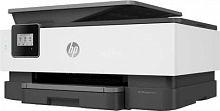 МФУ струйный HP OfficeJet 8013 (1KR70B) A4 Duplex WiFi черный/белый
