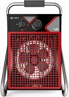 Тепловая пушка электрическая Timberk TIH Q2 3M 3000Вт черный/красный