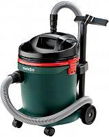 Строительный пылесос Metabo ASA 32 L 1200Вт зеленый