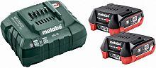 Батарея аккумуляторная Metabo Basic-Set 12V + SC30 12В 4Ач Li-Ion (З/У в компл.) (685301000)