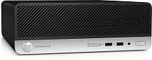 ПК HP ProDesk 400 G6 SFF i3 9100 (3.6)/4Gb/1Tb 7.2k/UHDG 630/DVDRW/Windows 10 Professional 64/GbitEth/180W/клавиатура/мышь/черный