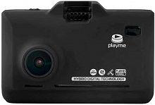 Видеорегистратор с радар-детектором Playme P570 GPS черный