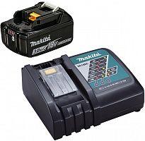 Батарея аккумуляторная Makita BL1830B 18В 3Ач Li-Ion (З/У в компл.) (191A25-2)