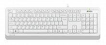 Клавиатура A4Tech Fstyler FK10 белый/серый USB