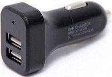 Автомобильное зар./устр. Wiiix UCC-2-15B 1.2A+2.1A универсальное черный