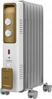 Радиатор масляный Timberk TOR 21.1507 BCX I 1500Вт белый/золотистый