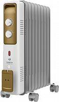 Радиатор масляный Timberk TOR 21.1809 BCX I 2000Вт белый/золотистый