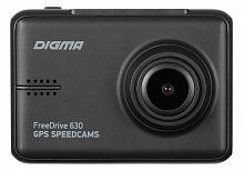 Видеорегистратор Digma FreeDrive 630 GPS Speedcams черный 2Mpix 1920x1080 1080p 150гр. GPS NTK96658