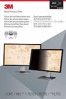 """Экран защиты информации для монитора 3M PF240W9B (7100011180) 24"""" черный"""