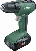 Дрель-шуруповерт Bosch UniversalDrill18 аккум. патрон:быстрозажимной