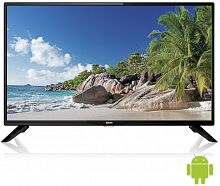 "Телевизор LED BBK 32"" 32LEX-7145/TS2C черный/HD READY/50Hz/DVB-T2/DVB-C/USB/WiFi/Smart TV (RUS)"
