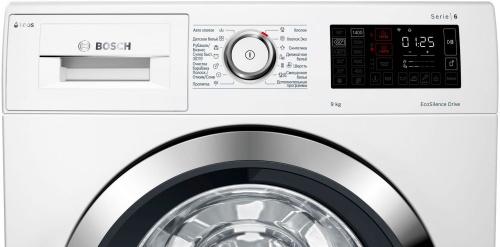 Стиральная машина Bosch WAT286H2OE класс: A-30% загр.фронтальная макс.:9кг белый фото 4