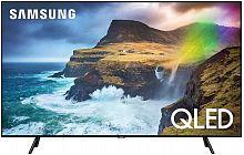 "Телевизор QLED Samsung 65"" QE65Q70RAUXRU Q черный/Ultra HD/1200Hz/DVB-T2/DVB-C/DVB-S2/USB/WiFi/Smart TV (RUS)"