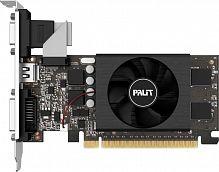 Видеокарта Palit PCI-E PA-GT710-1GD5 NVIDIA GeForce GT 710 1024Mb 64 GDDR5 954/5000 DVIx1/HDMIx1/CRTx1/HDCP Bulk