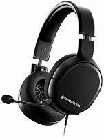 Наушники с микрофоном Steelseries Arctis 1 черный 3м мониторные оголовье (61427)
