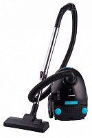 Пылесос Starwind SCB1112 1600Вт черный/голубой