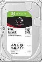 """Жесткий диск Seagate Original SATA-III 8Tb ST8000VN004 NAS Ironwolf (7200rpm) 256Mb 3.5"""""""