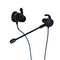 Наушники с микрофоном Hama uRage ChatZ черный/синий 1.6м вкладыши в ушной раковине (00113783)
