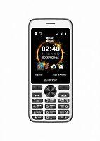 "Мобильный телефон Digma C280 Linx 32Mb черный моноблок 2Sim 2.8"" 240x320 0.3Mpix GSM900/1800 MP3 FM microSD max16Gb"