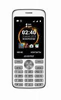 "Мобильный телефон Digma C280 Linx 32Mb серебристый моноблок 2Sim 2.8"" 240x320 0.3Mpix GSM900/1800 MP3 FM microSD max16Gb"